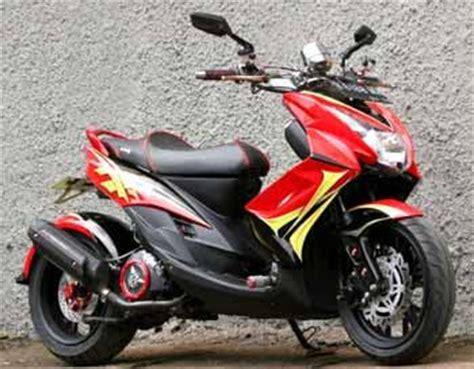 Modifikasi Mio Soul by Modifikasi Mio Soul Low Rider Merah Modifikasi Motor R