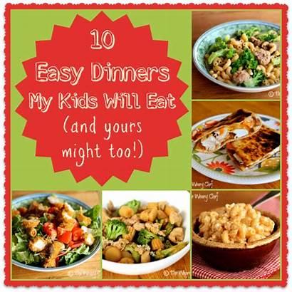 Dinner Kid Dinners Friendly Eat Easy Fun