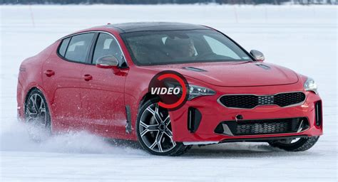 Watch Kia's New Stinger Testing Under Extreme Subzero