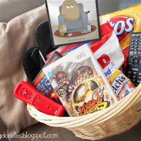 Couch Potato Gift Basket  Tip Junkie