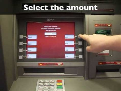 bank machine atm    withdrawal youtube