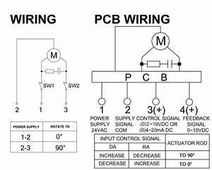 2 Way Electric Motorized Valve Ball Valve Modulating Or On