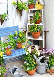 Objet Decoration Jardin : idee recup jardin idee recup jardin idee recup deco ~ Premium-room.com Idées de Décoration