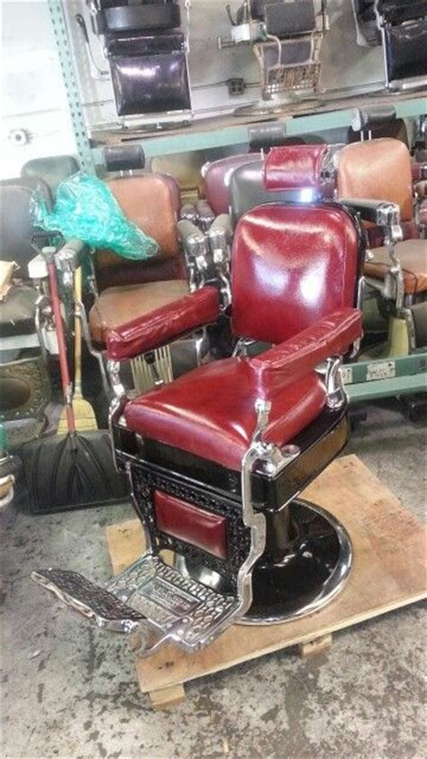 koch barber chair restoration 1000 images about antique barber chairs on