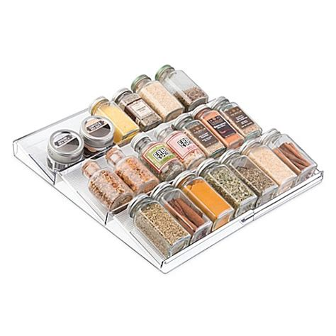 Spice Rack Buy by Buy Interdesign 174 Linus Acrylic Expandable Spice Rack From