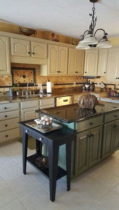 cabinet refinish using general finishes linen milk paint 601 fd8cc8392ed469a58527a5fe72d73e9c gold kitchen kitchen cupboards