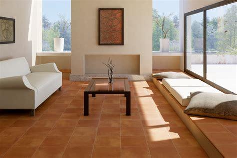 I vari materiali utilizzati per il pavimento del soggiorno