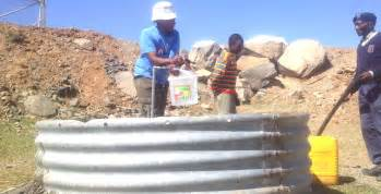 water shortages stalk lesotho sunday express