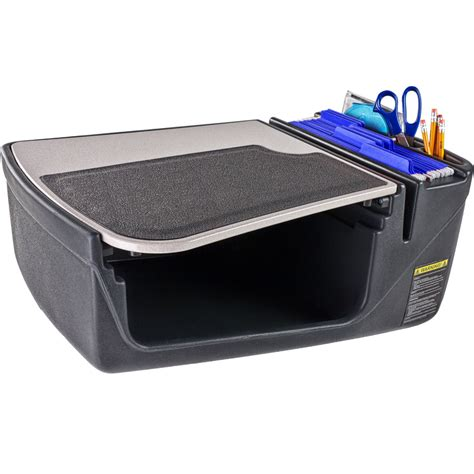 Car Desk by Gripmaster Efficiency Car Desk In Auto Exec Mobile Office