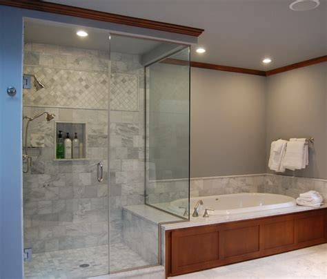 master bathroom ideas houzz master bath and shower traditional bathroom portland by designer s edge kitchen bath