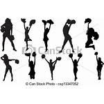 Cheerleader Clipart Cheerleaders Cheer Vector Inactivity Illustration