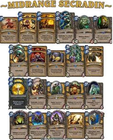 1000 images about hearthstone decks on decks rogues and priest