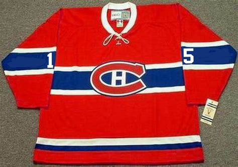 Bobby Rousseau 1968 Montreal Canadiens Vintage Throwback NHL Hockey Jersey