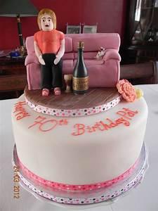 65Th Birthday Cake - CakeCentral.com