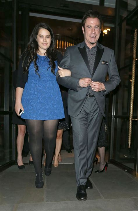 His fans were thrilled by the news too and. John Travolta and daughter Ella Bleu - Mirror Online