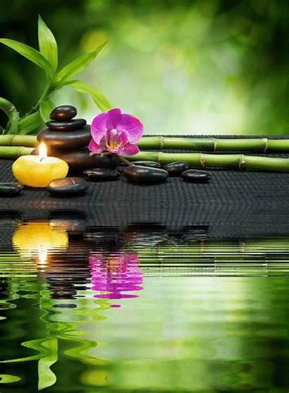 Zen Spa Relaxing Meditation Massage Foto Indian