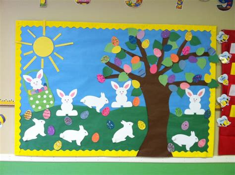 crafts actvities and worksheets for preschool toddler and 355 | easter bulletin board idea 2