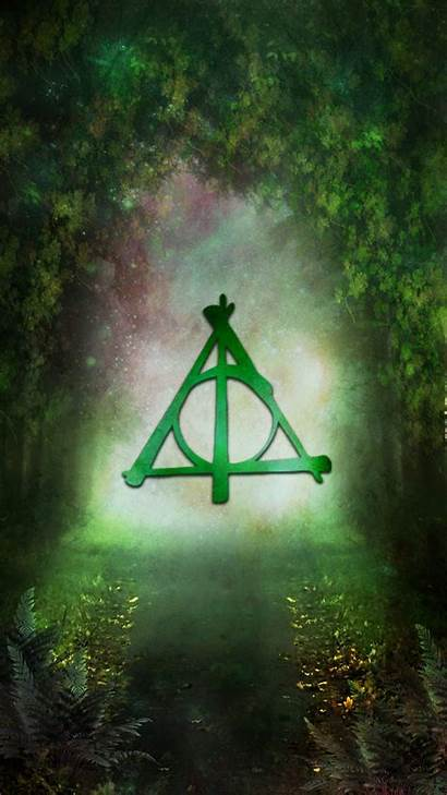 Hallows Deathly Potter Harry Symbol Wallpapers Phone