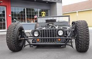 1945 Jeep Willys CJ 2A Rat Rod Randy Ellis Design Gulf