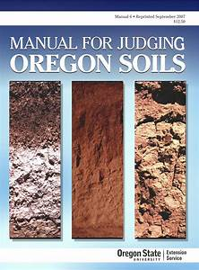 Manual For Judging Oregon Soils