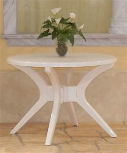 Gartentisch Rund Kunststoff Weiß : steiner milano kleiner gartentisch balkontisch rund 100 cm kunststoff wei neu ebay ~ Bigdaddyawards.com Haus und Dekorationen