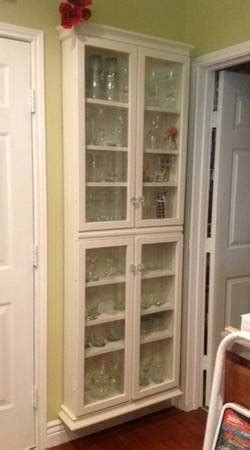 1000  images about shallow cabinets on Pinterest   Shelves