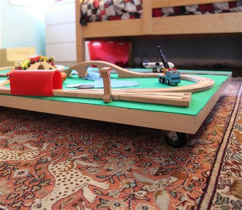 diy train table top diy train table under bed