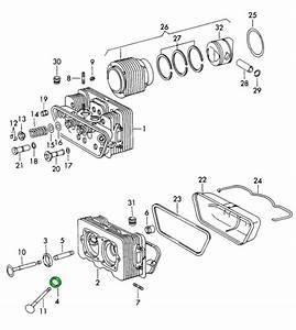 Porsche 912 Valve Seat Ring Intake Oversize 36910420652