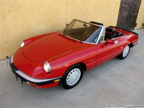 1988 Alfa Romeo Spider by 1988 Alfa Romeo Spider Photos Informations Articles