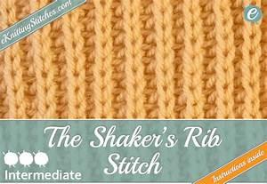 Rib Stitch Library