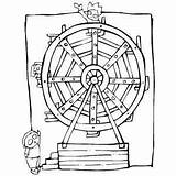 Wheel Ferris Clip Printable Carnival Activity Coloring Sheets Freeprintablecoloringpages Classroom Themes sketch template
