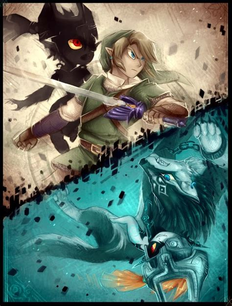 462 Best Images About Wolf Link And Midna On Pinterest
