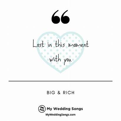 Moment Lost Songs 2007 Myweddingsongs Rich