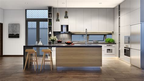 variety  minimalist kitchen designs    tips