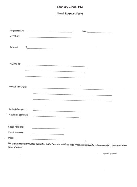 Forms & Documents - Kennedy PTA