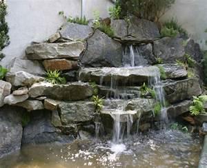 Gartenteich Ideen Bilder : gartenteich mit wasserfall new garten ideen ~ Lizthompson.info Haus und Dekorationen