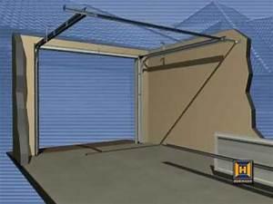comment poser une porte de garage sectionnelle wayne With comment securiser une porte de garage sectionnelle