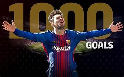 Messi Lionel Goals Football Footballer Reaches Players
