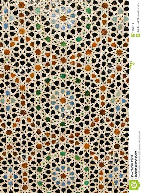 Abstrakter Hintergrund Eingelegte Marokkanische Fliesen