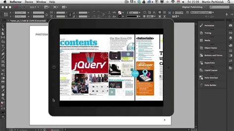 digital publishing  indesign cc types  interactive
