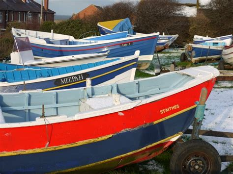 Fishing Boats For Sale North Yorkshire by Coble Fishing Boats In Winter Quarters 169 Andrew Curtis