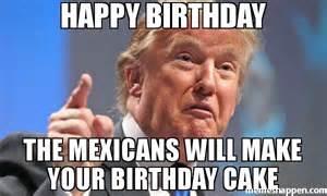 Birthday Cake Donald Trump Meme