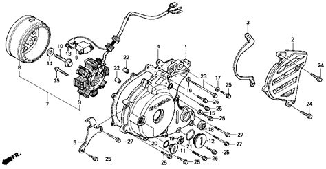Wiring Diagram For Honda Recon Atv by Wiring Diagram For Honda Recon Atv Honda Wiring Diagram