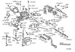 similiar 22re parts keywords 1987 toyota 22r engine diagram engine car parts and component
