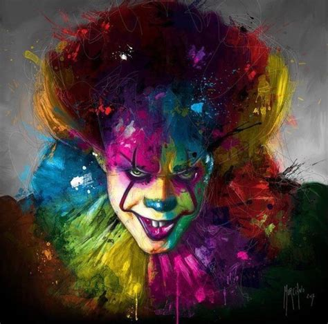 pennywise  dancing clown images  pinterest