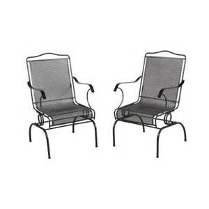 hton bay jackson action patio chairs 2 pack 7891700
