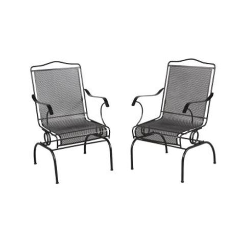 hton bay jackson patio chairs 2 pack 7891700