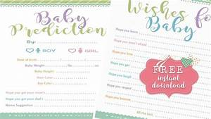 Free Adorable Baby Shower Advice Cards Tulamama