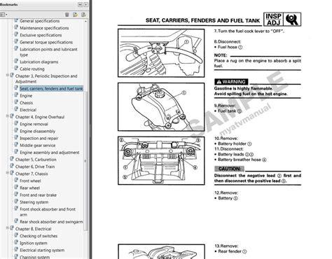 Yfm80 Wiring Diagram by 1985 1986 1987 1988 Yamaha Badger 80 Service Manual Cd
