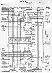 Dodge Challenger 1970 Wiring Diagram